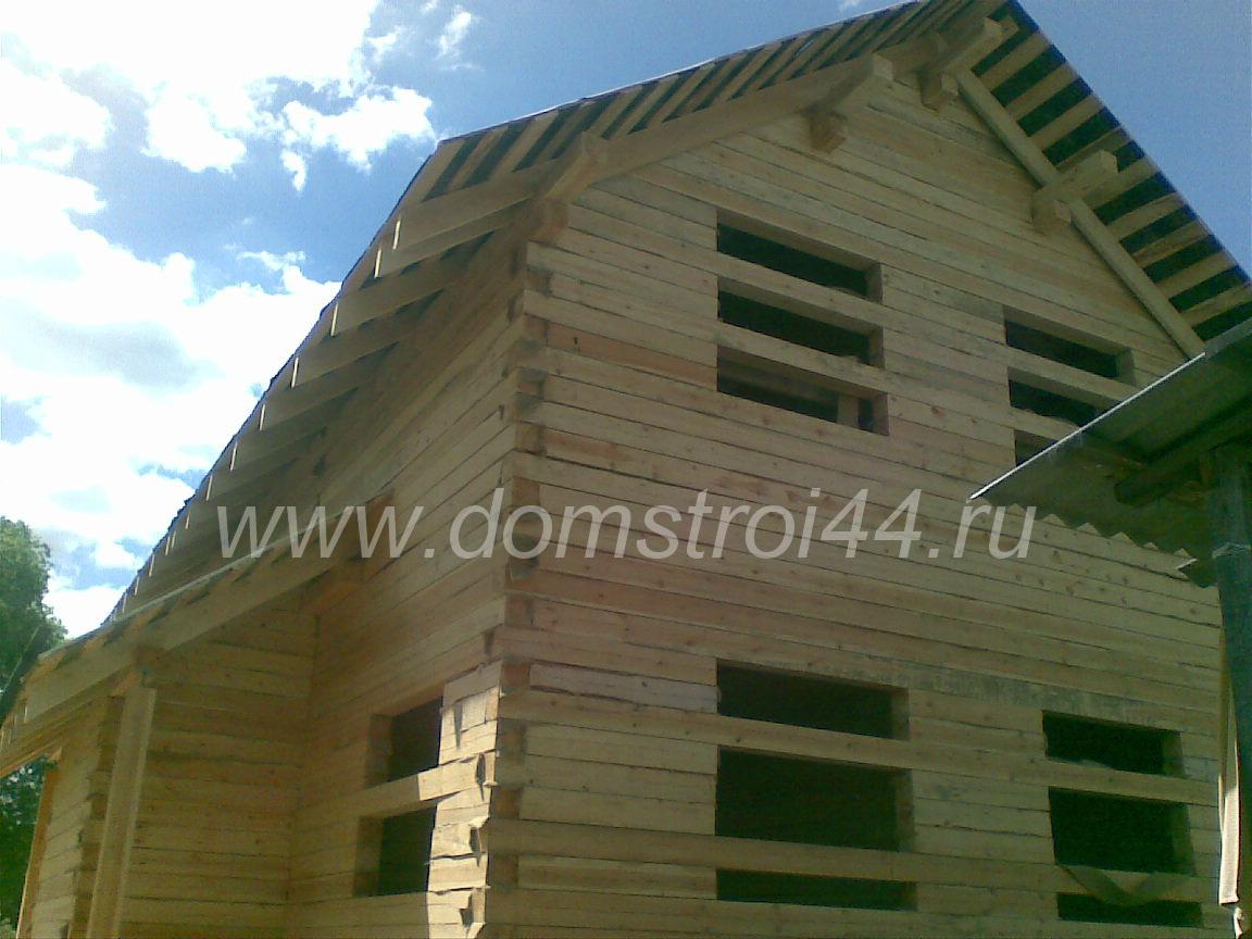 Строим дом из простого бруса