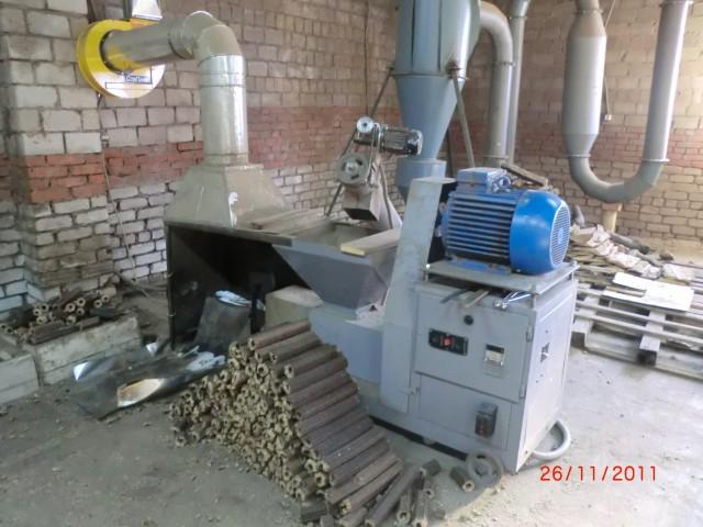 Линия для производства топливных брикетов PiniKay