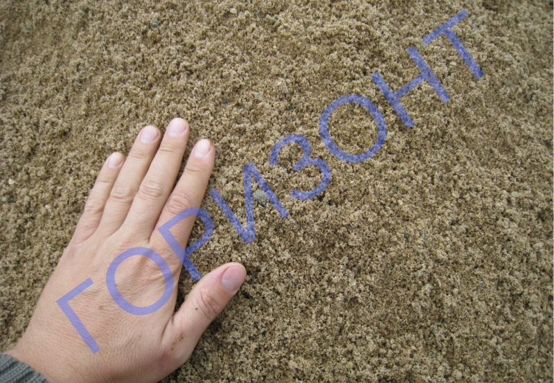 Привезем строительный песок